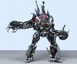 Układanka Transformatora, inteligentny robot. Transformatory