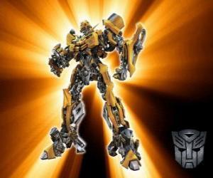 Układanka Transformers Bumblebee, Autobots
