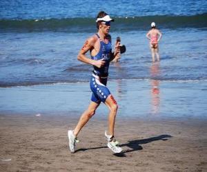 Układanka Triathlete w lekkiej atletyce