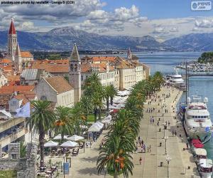 Układanka Trogir, Chorwacja