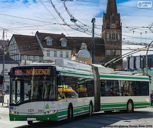 Układanka Trolejbus