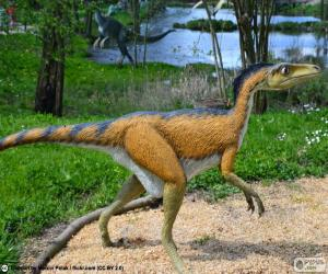 Układanka Troodon