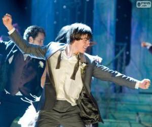 Układanka Troy Bolton taniec