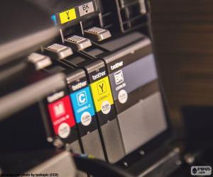 Układanka Tusze do drukarki