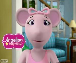 Układanka Twarz Angelina Ballerina