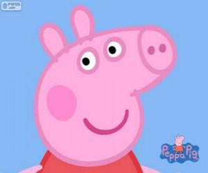 Układanka Twarz Peppa Pig