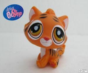 Układanka Tygrys z Littlest PetShop