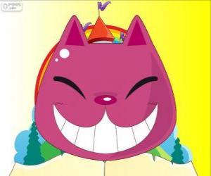 Układanka Uśmiech kot z Cheshire