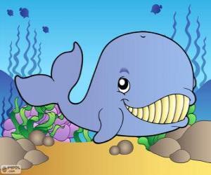 Układanka Uśmiechnięte wieloryby