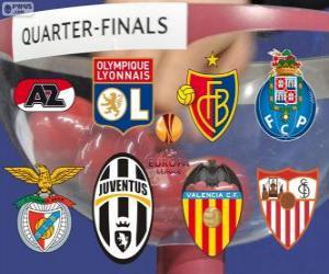 Układanka UEFA Europa League 2013-14-ćwierćfinały