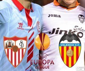 Układanka UEFA Europa League 2013-14 w półfinale, Sevilla - Walencja