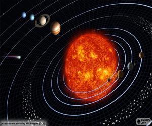 Układanka Układ słoneczny