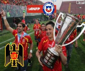 Układanka Unión Española, mistrz Torneo de Transición 2013, Chile