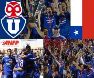 Układanka Universidad de Chile, 2011 Mistrzem Apertura 2011