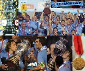 Układanka Urugwaj Champion Copa America 2011
