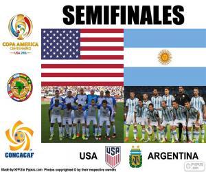Układanka USA-ARG, Copa America 2016