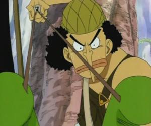 Układanka Usopp, strzelec z piratem załogi i broni ekspertów