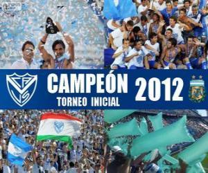 Układanka Vélez Sarsfield, mistrz Torneo Inicial 2012, Argentyna