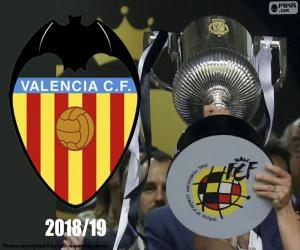 Układanka Valencia CF, Copa del Rey 2018-19