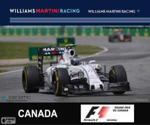 Układanka Valtteri Bottas G.P. Kanady 2015
