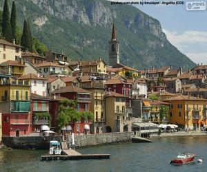 Układanka Varenna, Włochy