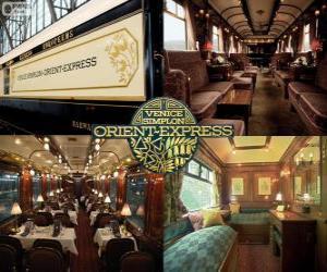 Układanka Venice Simplon Orient - Express