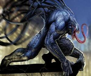 Układanka Venom to symbiont formy życia i jedną z Spider-Man wrogowie