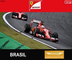 Układanka Vettel, Grand Prix Brazylii 2015