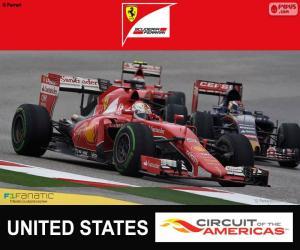 Układanka Vettel, Grand Prix Stanów Zjednoczonych 2015