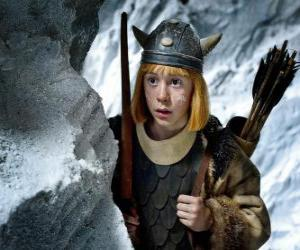 Układanka Vicky Viking zaskoczona