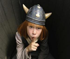 Układanka Vicky Wiking ukrywanie