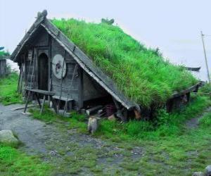 Układanka Viking Dom