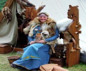 Układanka Viking Queen