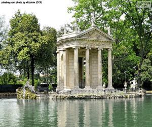 Układanka Villa Borghese, Rzym