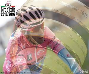 Układanka Vincenzo Nibali, Giro Włochy 2016