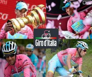 Układanka Vincenzo Nibali, mistrz Giro Włochy 2013