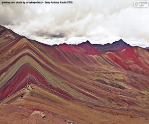 Układanka Vinicunca, Peru
