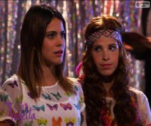 Układanka Violetta i Kamili