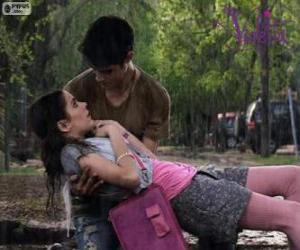Układanka Violetta i Tomás