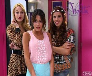 Układanka Violetta Ludmiła i Camila