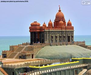 Układanka Vivekananda Rock Memorial, Indie