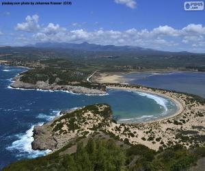 Układanka Voidokiliá Bay, Grecja
