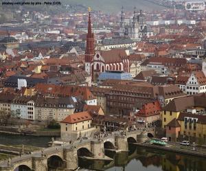 Układanka Würzburg, Niemcy