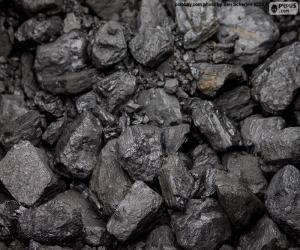 Układanka Węgle kopalne
