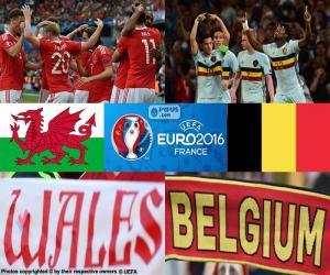 Układanka Walia-BE, ćwierćfinał Euro 2016