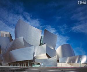 Układanka Walt Disney Concert Hall, Stany Zjednoczone