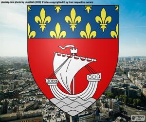 Układanka Wapen van Parijs