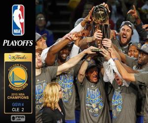 Układanka Warriors, mistrzów NBA 2015