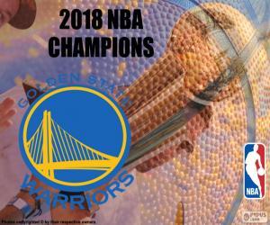 Układanka Warriors mistrzów NBA 2018