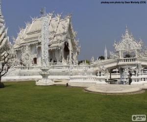 Układanka Wat Rong Khun, Tajlandia